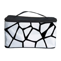 Seamless Cobblestone Texture Specular Opengameart Black White Cosmetic Storage Case by Alisyart