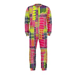 Abstract Pattern Onepiece Jumpsuit (kids) by Simbadda