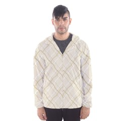 Background Pattern Hooded Wind Breaker (men) by Simbadda