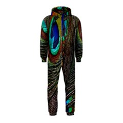 Peacock Feathers Hooded Jumpsuit (kids) by Simbadda