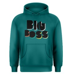 Big Boss   Men s Pullover Hoodie by FunnySaying