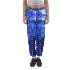 Blue Sequins Women s Jogger Sweatpants by boho