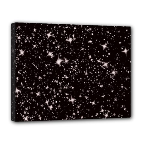 Black Stars Canvas 14  X 11  by boho