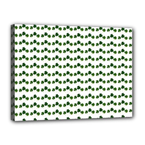 Shamrock Canvas 16  X 12  by boho