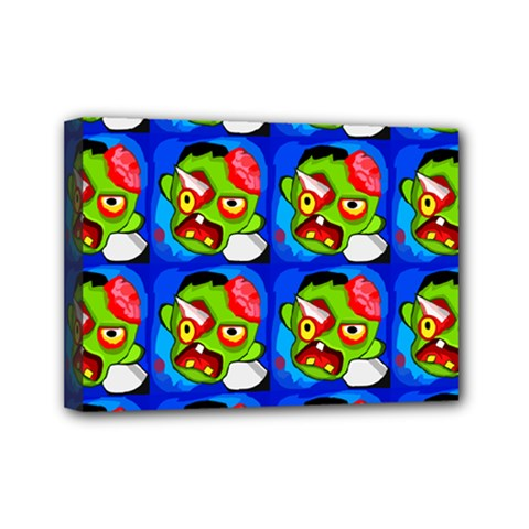 Zombies Mini Canvas 7  X 5  by boho