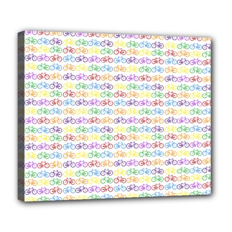 Bicycles Deluxe Canvas 24  X 20   by boho