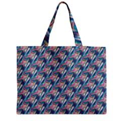 Holographic Hologram Medium Zipper Tote Bag by boho
