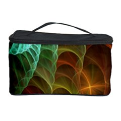 Art Shell Spirals Texture Cosmetic Storage Case by Simbadda