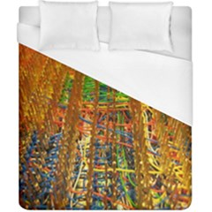 Circuit Board Pattern Duvet Cover (California King Size)