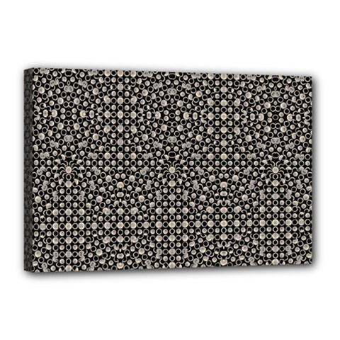 Modern Oriental Pattern Canvas 18  X 12  by dflcprints