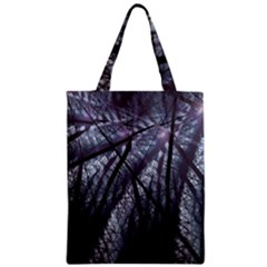 Fractal Art Picture Definition  Fractured Fractal Texture Zipper Classic Tote Bag