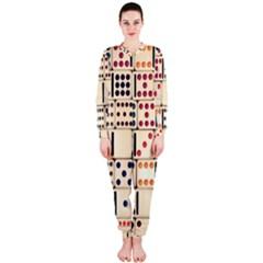 Old Domino Stones OnePiece Jumpsuit (Ladies)  by Onesevenart