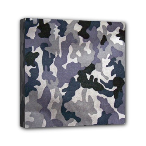 Army Camo Pattern Mini Canvas 6  X 6  by Onesevenart
