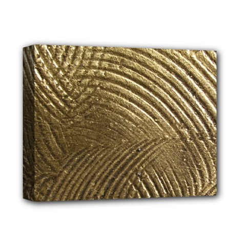 Brushed Gold Deluxe Canvas 14  X 11  by Onesevenart