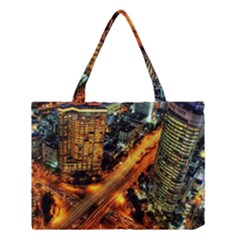 Hdri City Medium Tote Bag by Onesevenart