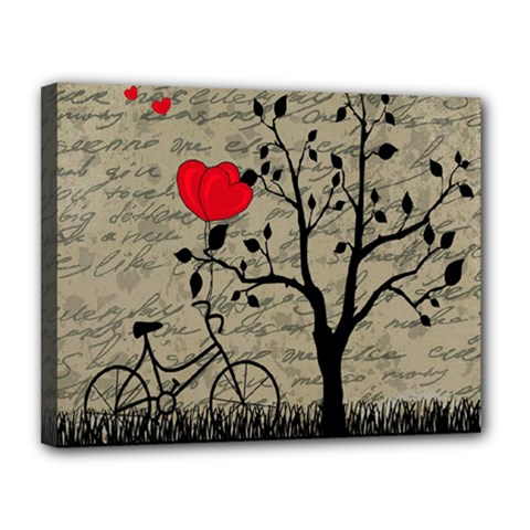Love letter Canvas 14  x 11  by Valentinaart