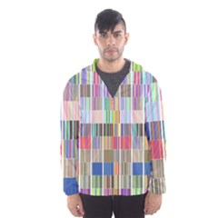 Overlays Graphicxtras Patterns Hooded Wind Breaker (men) by Simbadda