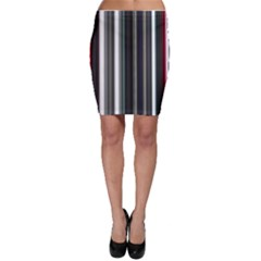 Miracle Mile Pattern Bodycon Skirt