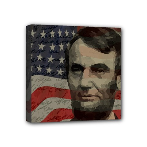 Lincoln Day  Mini Canvas 4  X 4  by Valentinaart