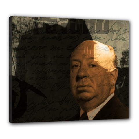 Alfred Hitchcock   Psycho  Canvas 24  X 20  by Valentinaart