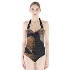 Alfred Hitchcock   Psycho  Halter Swimsuit by Valentinaart
