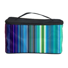 Color Stripes Cosmetic Storage Case by Simbadda