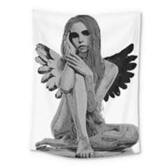 Stone Angel Medium Tapestry by Valentinaart