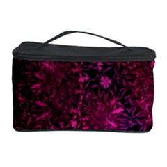 Retro Flower Pattern Design Batik Cosmetic Storage Case by Simbadda