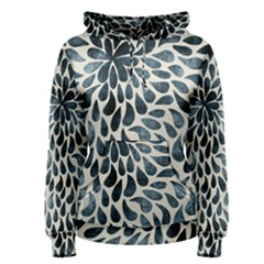 Abstract Flower Petals Floral Women s Pullover Hoodie by Simbadda