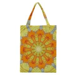 Sunshine Sunny Sun Abstract Yellow Classic Tote Bag by Simbadda