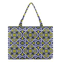 Tiles Panel Decorative Decoration Medium Tote Bag by Simbadda