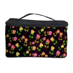 Flowers Roses Floral Flowery Cosmetic Storage Case by Simbadda