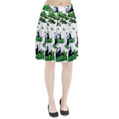 Cute Panda Cartoon Pleated Skirt by Simbadda