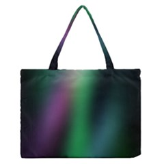 Course Gradient Color Pattern Medium Zipper Tote Bag by Simbadda