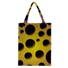 Background Design Random Balls Classic Tote Bag by Simbadda