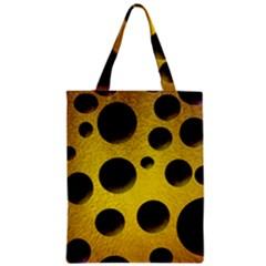 Background Design Random Balls Zipper Classic Tote Bag by Simbadda