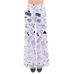 Furniture Black Decor Pattern Pants by Simbadda