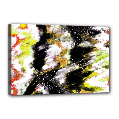 Canvas Acrylic Digital Design Canvas 18  X 12  by Simbadda