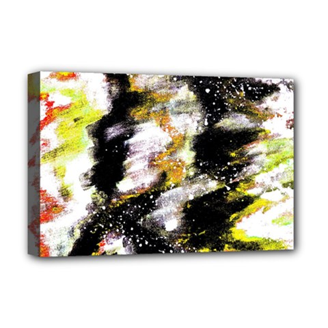 Canvas Acrylic Digital Design Deluxe Canvas 18  X 12   by Simbadda