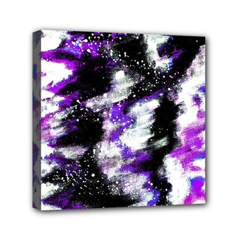 Canvas Acrylic Digital Design Mini Canvas 6  X 6  by Simbadda