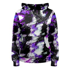 Canvas Acrylic Digital Design Women s Pullover Hoodie by Simbadda