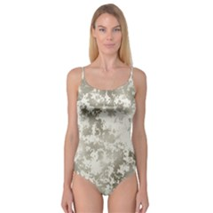 Wall Rock Pattern Structure Dirty Camisole Leotard  by Simbadda