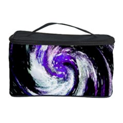 Canvas Acrylic Digital Design Cosmetic Storage Case by Simbadda