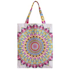 Kaleidoscope Star Love Flower Color Rainbow Classic Tote Bag by Alisyart