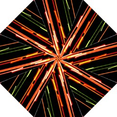 Colorful Diagonal Lights Lines Straight Umbrellas by Alisyart