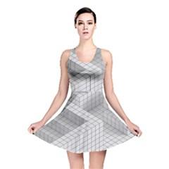 Design Grafis Pattern Reversible Skater Dress