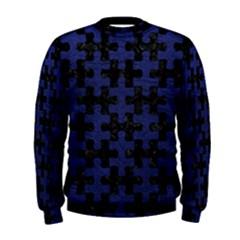PUZ1 BK-MRBL BL-LTHR Men s Sweatshirt