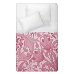 Vintage Style Floral Flower Pink Duvet Cover (single Size) by Alisyart