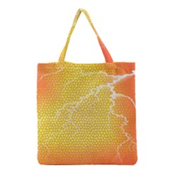 Exotic Backgrounds Grocery Tote Bag by Simbadda
