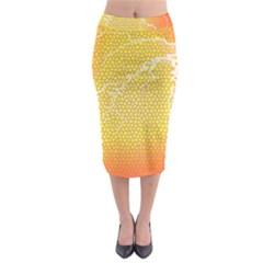 Exotic Backgrounds Midi Pencil Skirt by Simbadda